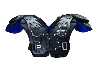 Front view of the Mid Flex 4.0 Youth Football Shoulder Pads