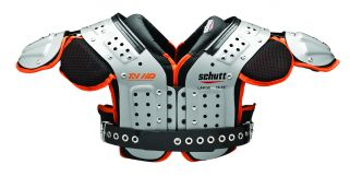 Front view of the XV HD Offensive Line/Defensive Line Football Shoulder Pads