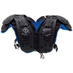 Front view of the T-Flex Youth Football Shoulder Pads