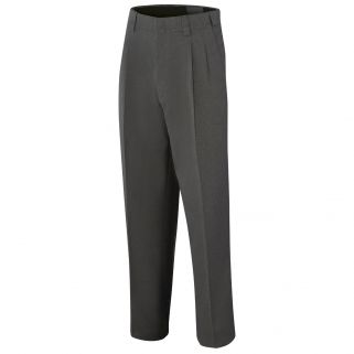 Pleated Expandable Waist Umpire Pants